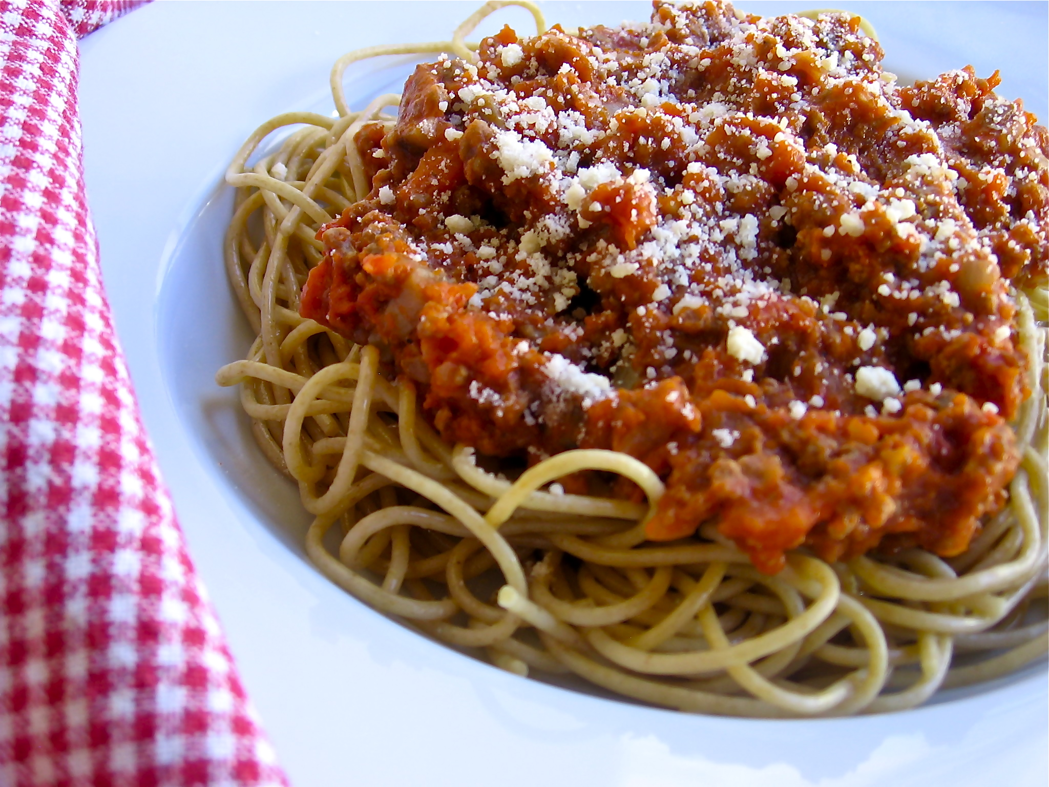 Easy Spaghetti & Meat Sauce