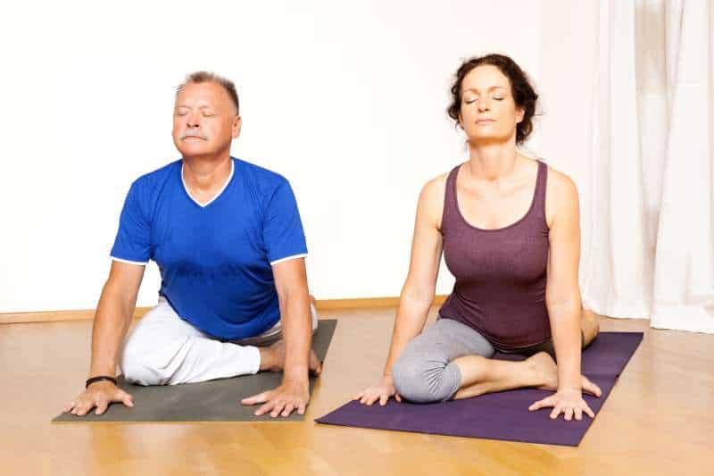 Image result for Spanish man doing yoga