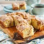 Grandma's Coffee Crumb Cake