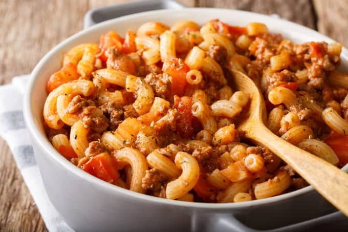 Hamburger Goulash With Elbow Macaroni Simple Nourished Living
