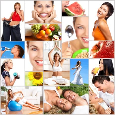 Healthy Living Montage