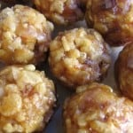 Rice Krispie Date Balls