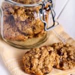 Low Fat Applesauce Oatmeal Cookies Recipe Simple Nourished Living
