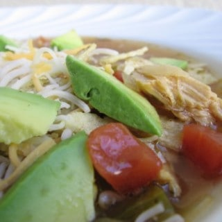 easy healthy chicken tortilla soup