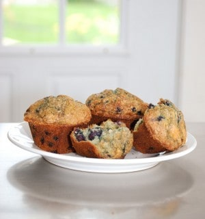 10 Healthy Blueberry Muffin Recipes