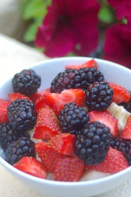 ways to eat cottage cheese with fruit