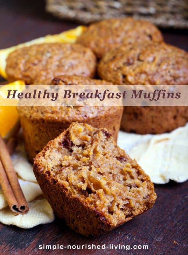 Healthy Breakfast Mini Muffins Recipe Simple Nourished Living