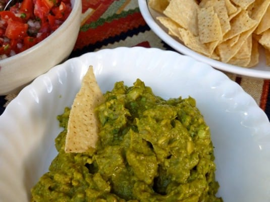 Weight Watchers Homemade Guacamole Recipe