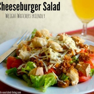 Skinny Cheeseburger Salad Recipe for Weight Watchers