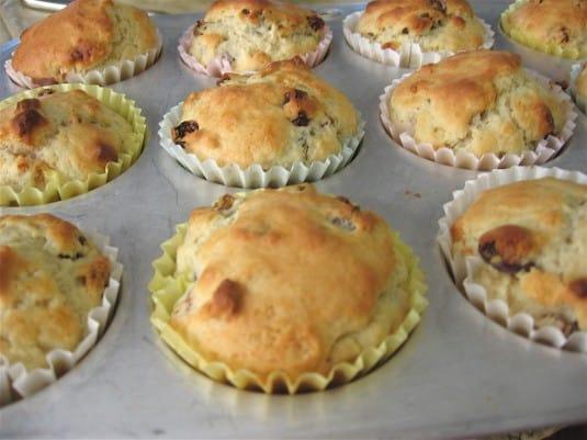 Recipe for Irish Soda Bread Muffins
