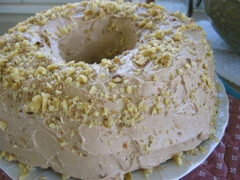 My Grandmother's Favorite Maple Walnut Birthday Cake
