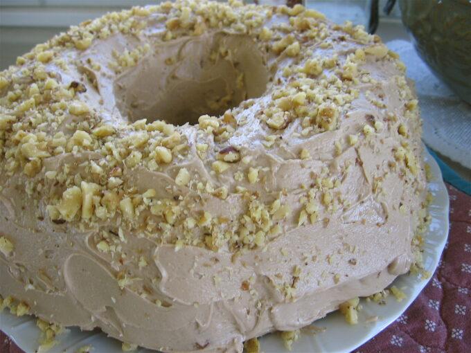 Nana's Maple Walnut Birthday Cake