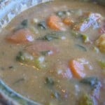 Spring Vegetable and Bean Soup