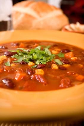 Basic Vegetarian Chili Recipe — Dishmaps