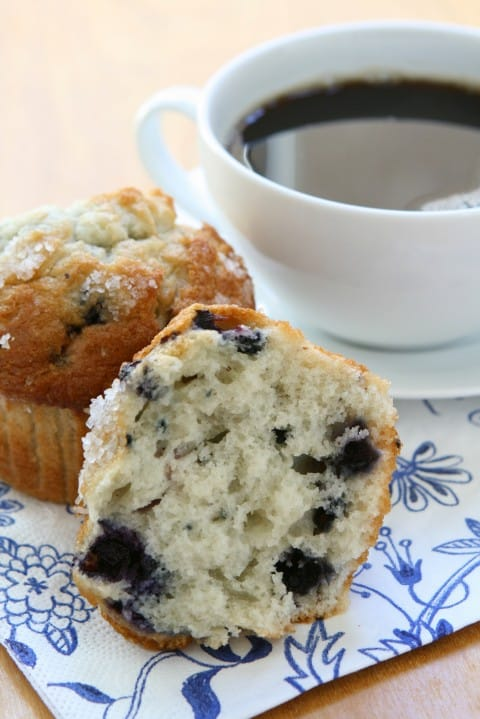 Healthy Blueberry Muffin Recipes