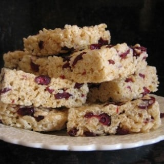 Favorite Not Bake Cookies Rice Krispie Treats