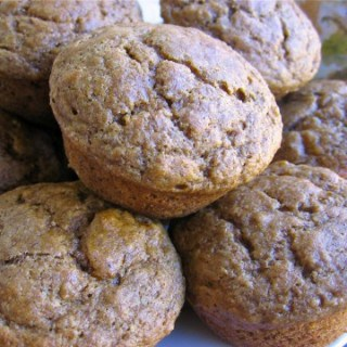 Healthy Whole Wheat Banana Muffins