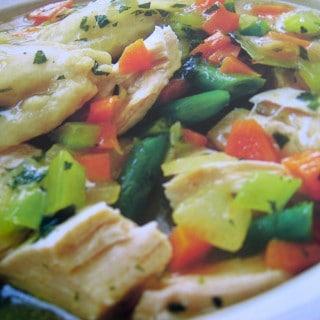 Easy Healthy Chicken and Dumplings