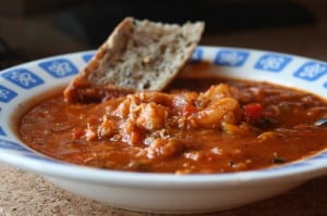 Spicy Crab Shrimp Soup