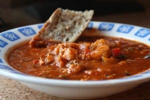 Spicy Crab Shrimp Soup