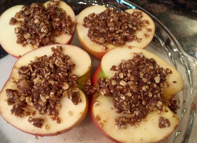 Healthy Baked Apples Recipe Simple Nourished Living