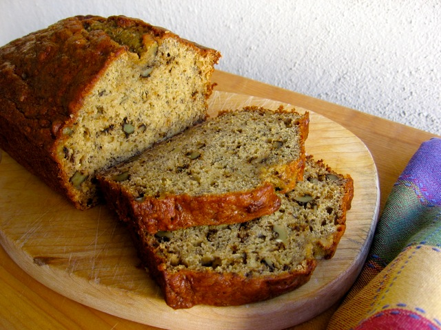Healthy Low Fat Banana Nut Bread