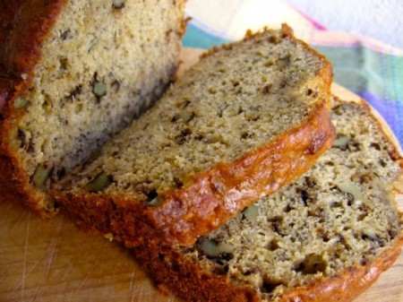 Healthy Low Fat Banana Nut Bread | Weight Watchers ...