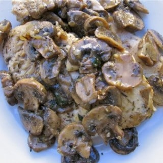 Healthy Low Fat Chicken Marsala