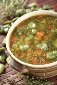 Simple Garden Vegetable Soup