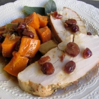 Sweet Potato Turkey Dinner in a Skillet