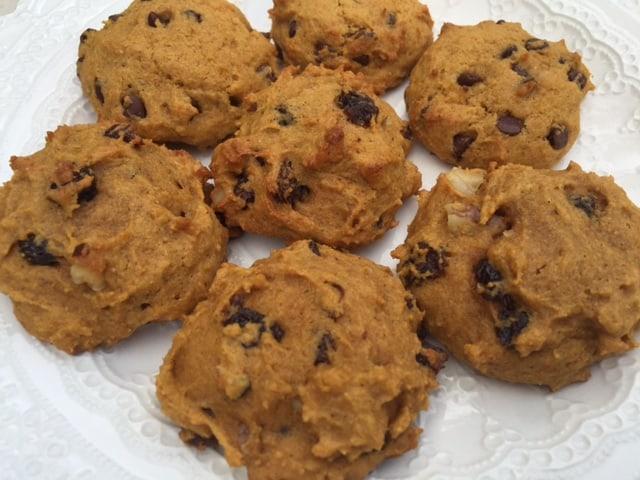 Image result for healthy pumpkin cookies