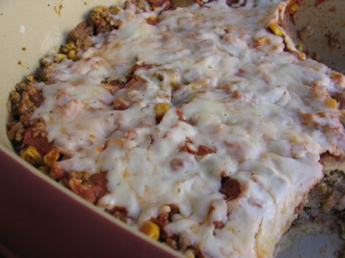 Slim and Healthy Ground Beef Enchilada Casserole