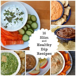 16 Slim & Healthy Low Fat Dip Recipes