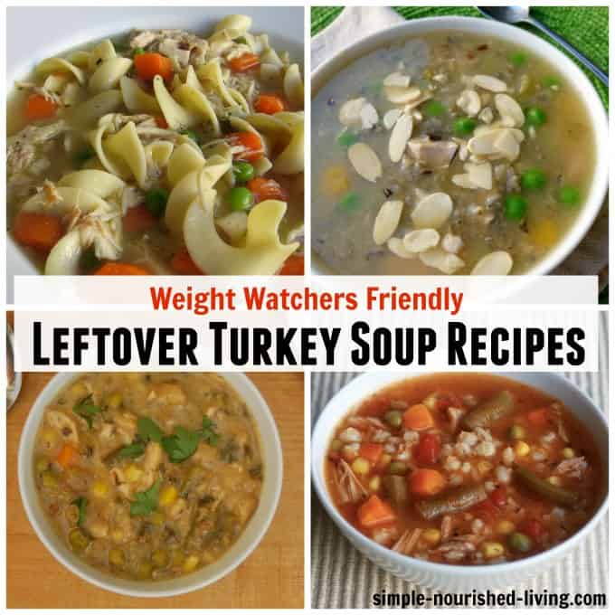 7 Weight Watchers Leftover Turkey Soup Recipes