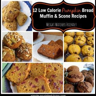 Easy Healthy Pumpkin Bread Muffin Scone Recipes