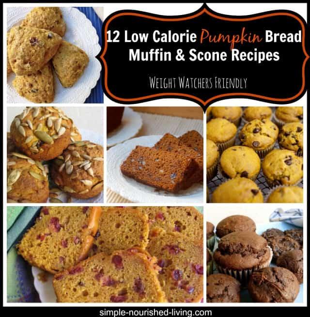 Easy Healthy Pumpkin Bread Muffin Scone Recipes