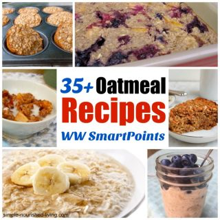 35+ Oatmeal Recipes for Breakfast & Beyond with Weight Watchers Points