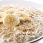 Oatmeal and bananas