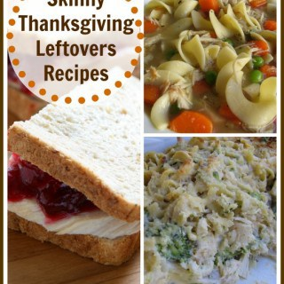 Skinny Thanksgiving leftovers recipes