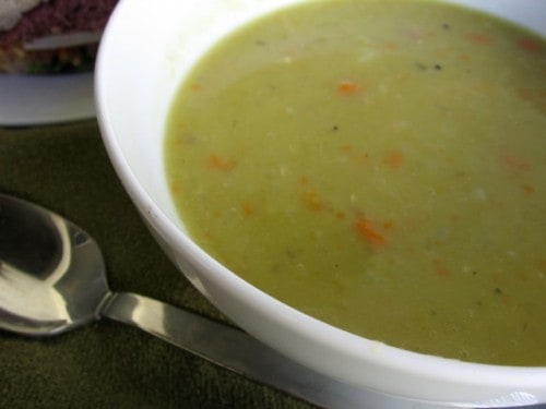 Slow Cooker Ham Split Pea Soup