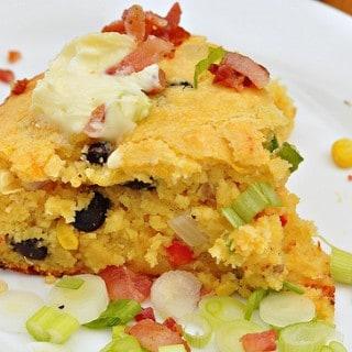 Moist Mexican Corn Bread – 5 Points+