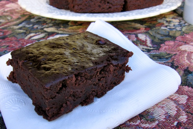 Slim & Healthy Black Bean Brownie