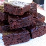 Skinny Black Bean Brownies