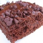 Skinny Low Fat Chocolate Cake