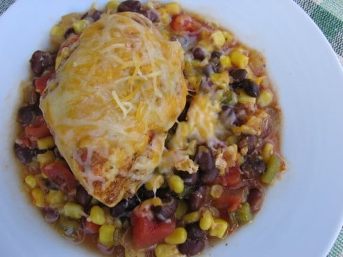 Slim, healthy & delicious southwestern slow cooker chicken