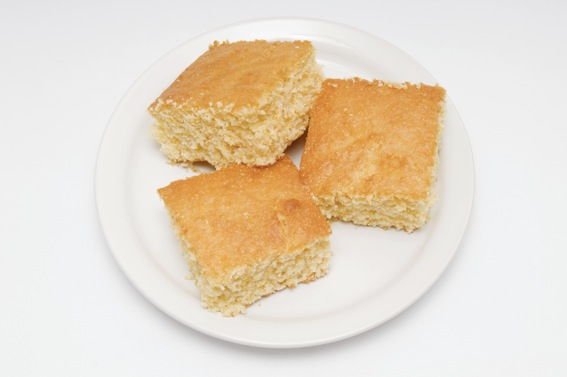light and healthy cornbread