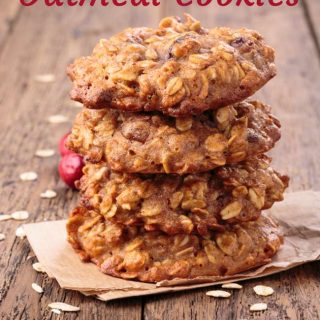 Cranberry Apple Oatmeal Cookies - 3 Weight Watchers SmartPoints