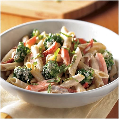Creamy One-Pot Pasta from The Pampered Chef - 9 Weight Watchers Freestyle SmartPoints