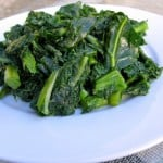 southern style spicy vegetarian collard greens