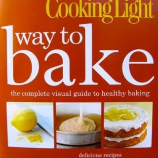 Cooking Light Way to Bake Cookbook Review & Giveaway